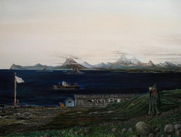 Golfe du Morbihan vu de la base