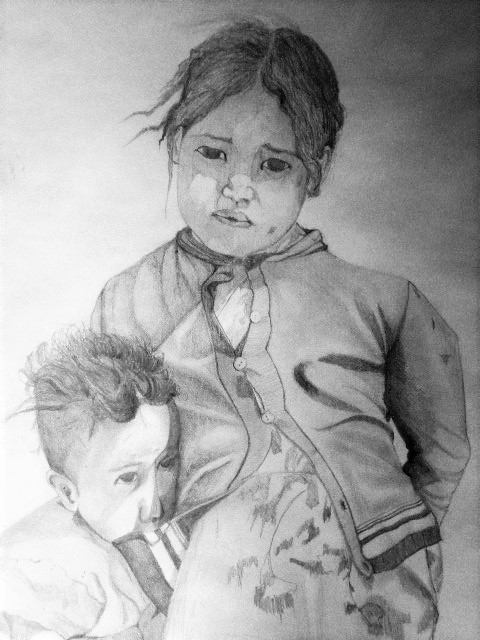Sœur et frère