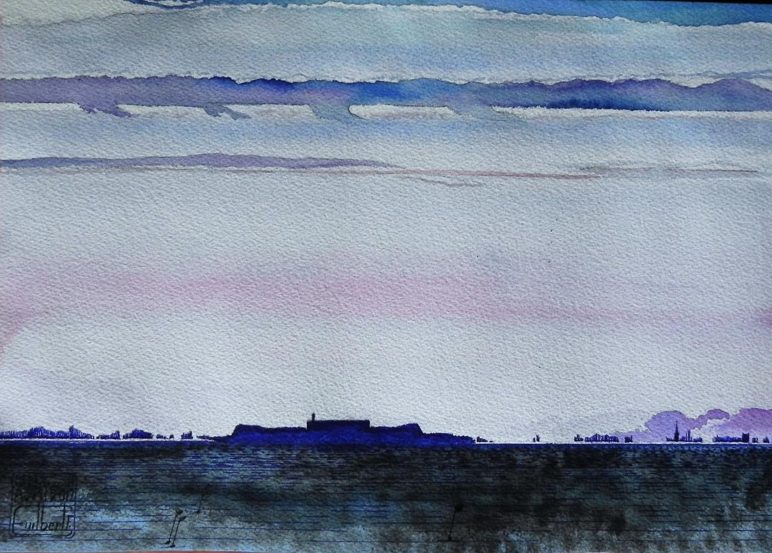 Deuxième vue des îles St Marcouf