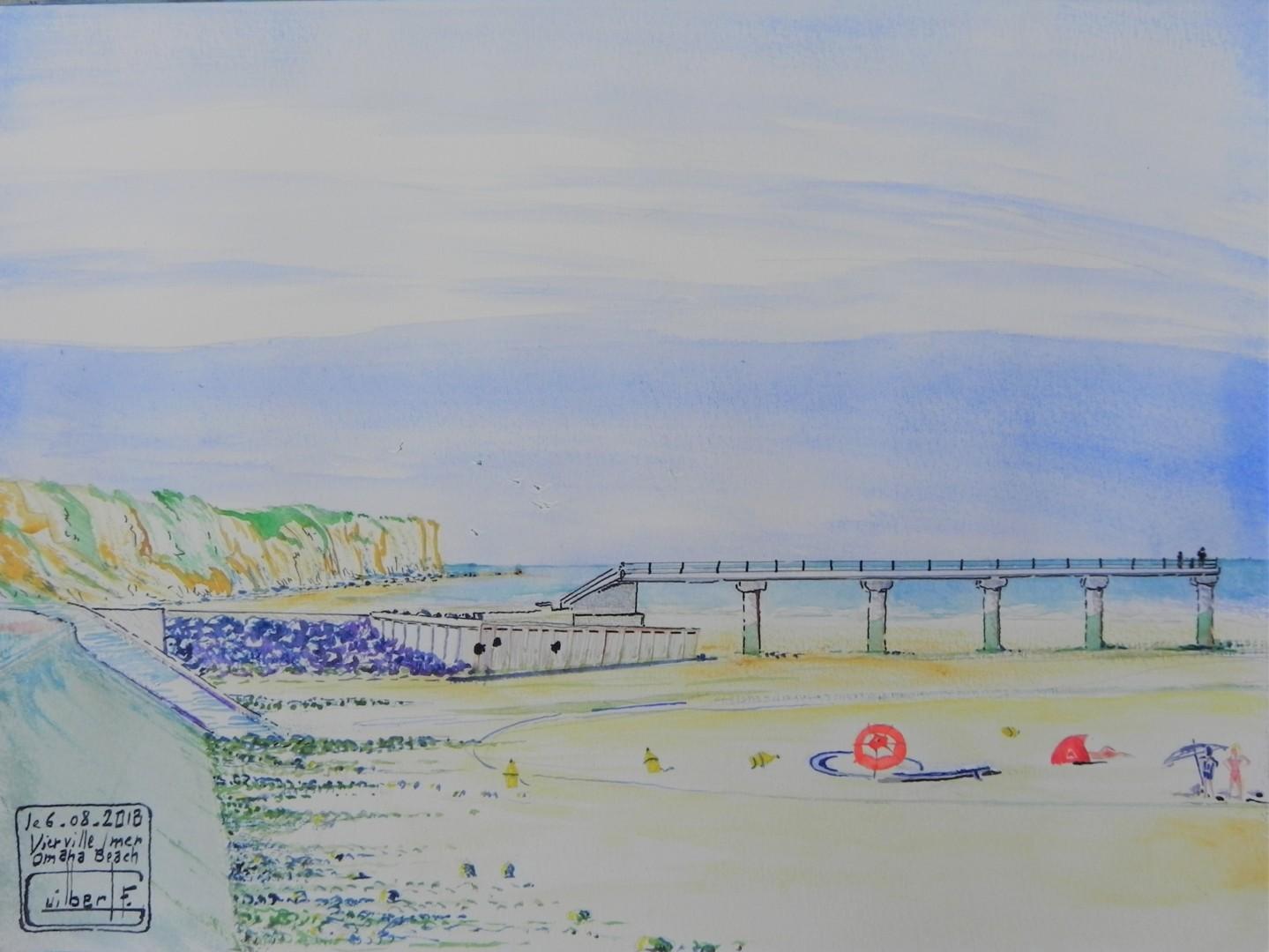 Canicule sur Omaha Beach